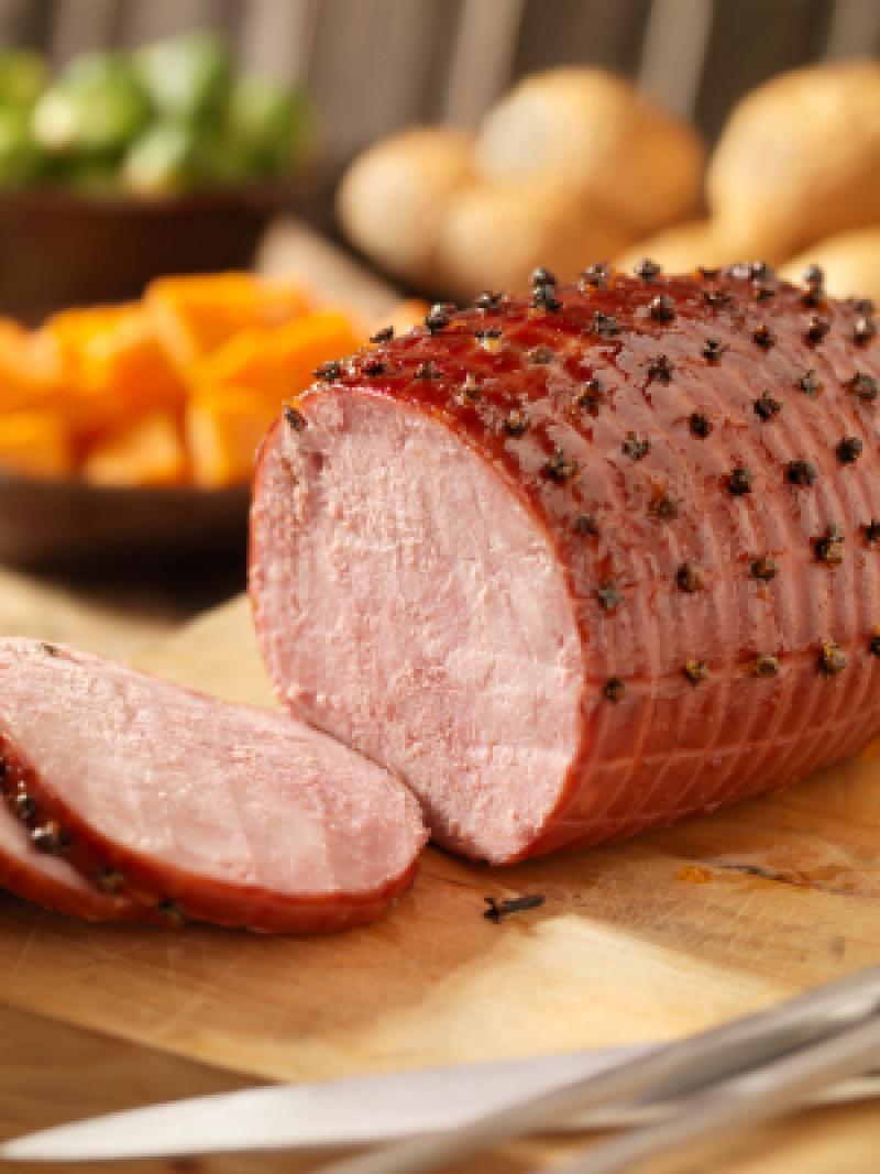 Saladmaster Roasted Ham with Maple Mustard Sauce