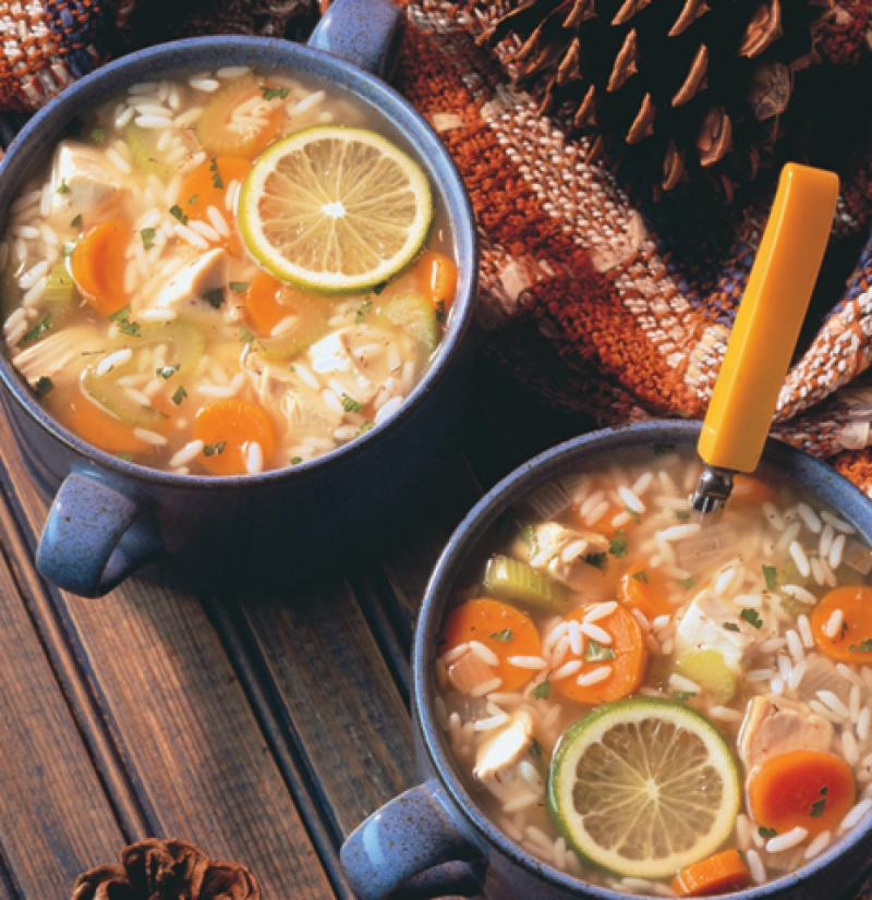 Simple, Hearty, Chicken And Rice Soup Recipes — Dishmaps